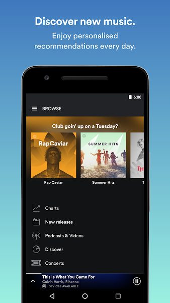 Spotify: Free Music Streaming- screenshot