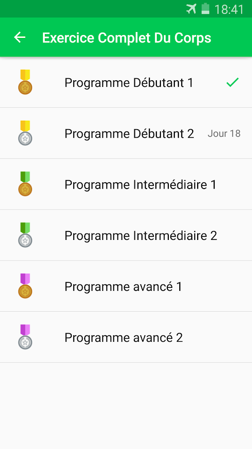 Assez 30 Jours Fitness Challenge – Applications Android sur Google Play FZ68