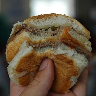 White Castle Hamburgers or The Famous White Castle Sliders.
