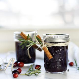 Spiced Cranberry Jam.