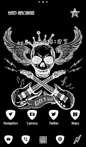 Skull Wallpaper Rock 'n Roll 1.0.0 Windows u7528 2