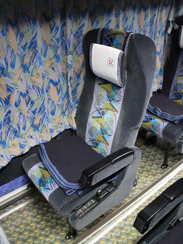 阪急バス「よさこい号」 2891 シート