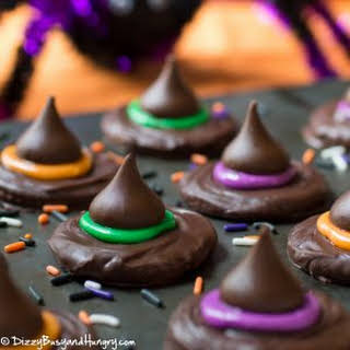 Witch Hat Cookies.