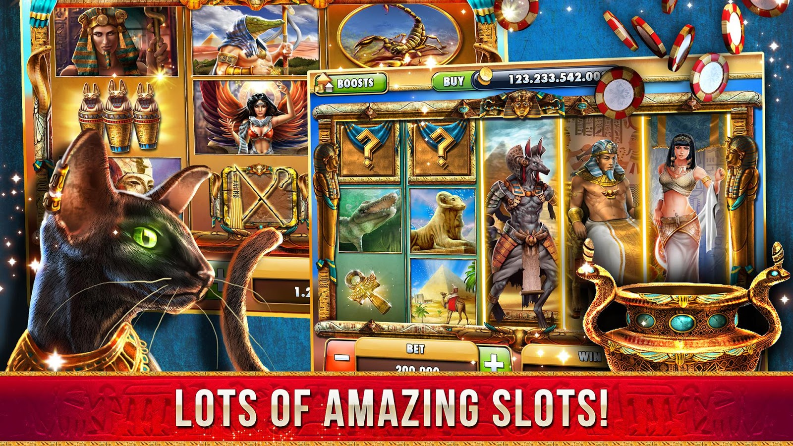 cleopatra casino game