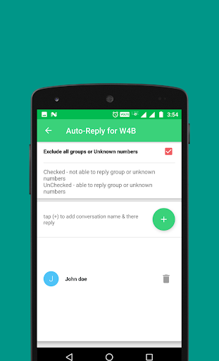 Auto-Reply for WhatsApp Business 1.3 screenshots 6