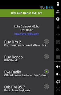 ICELAND RADIO FM LIVE - náhled
