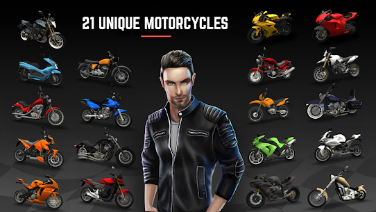 Racing Fever: Moto MOD (Unlimited Money/Tickets) 2