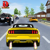 Modren Car Traffic Race