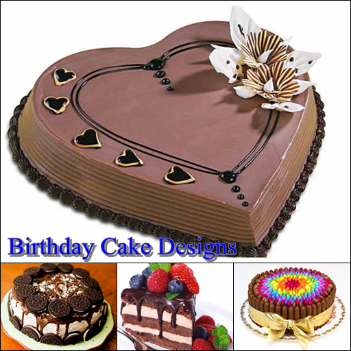birthday cake designs ideas screenshot - Birthday Cake Designs Ideas