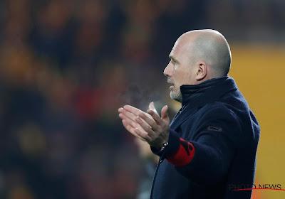 """Philippe Clément s'est fâché à la pause : """"C'était notre pire match"""""""