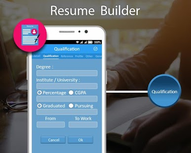 resume builder cv maker pdf screenshot thumbnail - Resume Builder Pdf