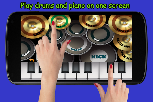 Download Blue Drum - Piano 1.6 screenshots 1
