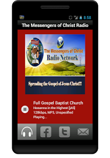 The Messengers of Christ Radio- screenshot thumbnail
