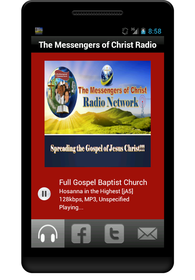 The Messengers of Christ Radio- screenshot
