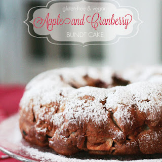 Apple & Cranberry Bundt Cake