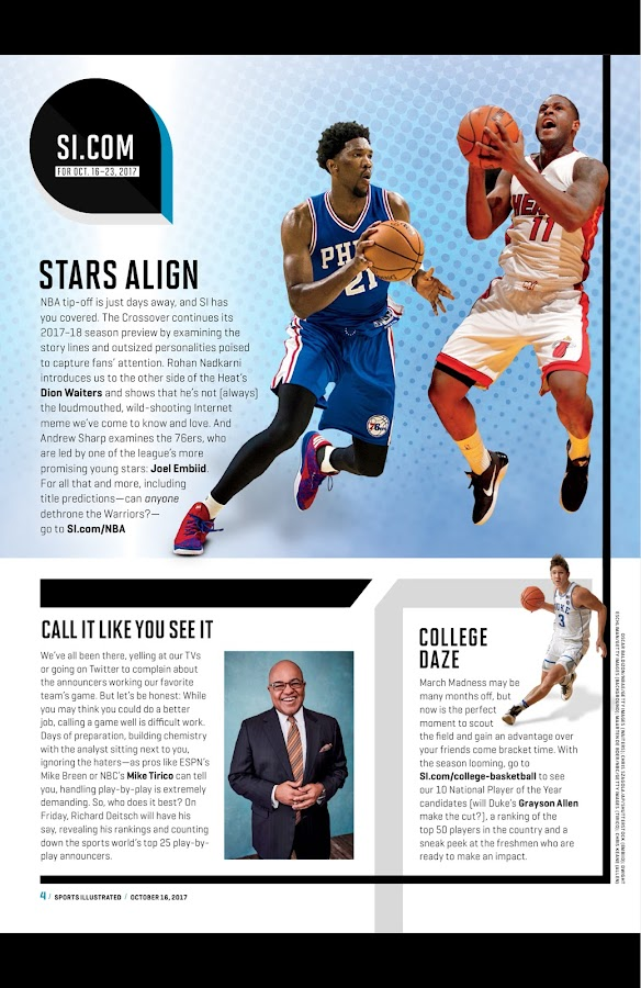 Sports Illustrated- screenshot