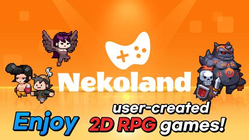 Nekoland: 2D MMORPG created by users 2.75 screenshots 1