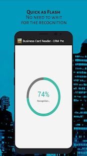 Business Card Reader - CRM Pro Screenshot