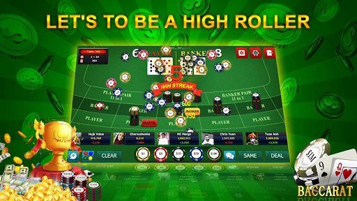 Baccarat 9 - Online Casino Card Games android2mod screenshots 3