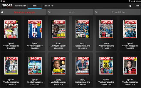 Sport/Voetbalmagazine HD screenshot 1