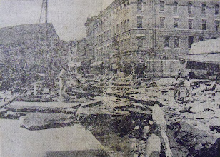 Photo: Hotel Winchester was among the buildings damaged by the flood.