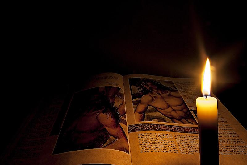 Natura morta con Bibbia (interpretazione) di sapo56