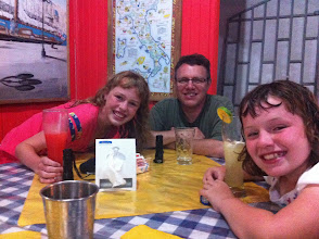 Photo: Dinner at Pizza Mail in Puerto Jimenez. The woman from Italy who runs it was on our boat tour. And their food is really good!
