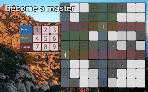 Sudoku Masters - Rock Forms- screenshot thumbnail