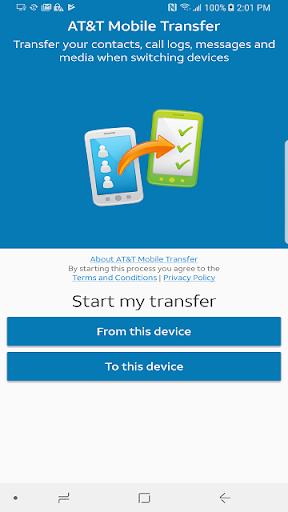 AT&T Mobile Transfer  screenshots 1