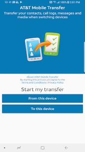 AT&T Mobile Transfer - náhled