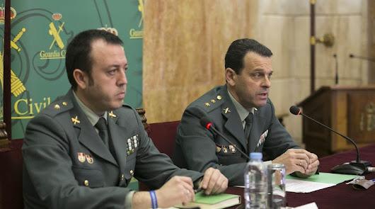 Hernández Mosquera es el nuevo coronel jefe de la Guardia Civil en Alicante