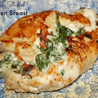 Spinach Stuffed Chicken Breast.
