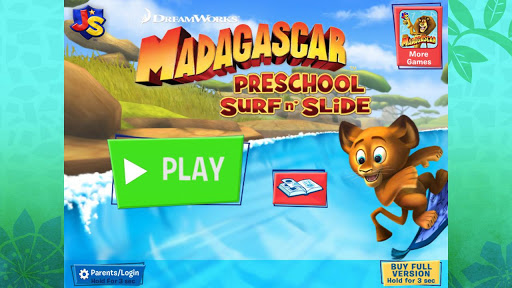 Madagascar Surf n' Slides Free screenshot 5
