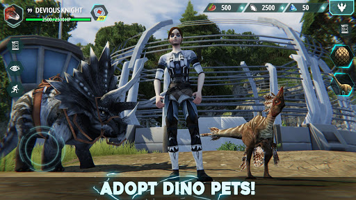 Dino Tamers - Jurassic Riding MMO filehippodl screenshot 2