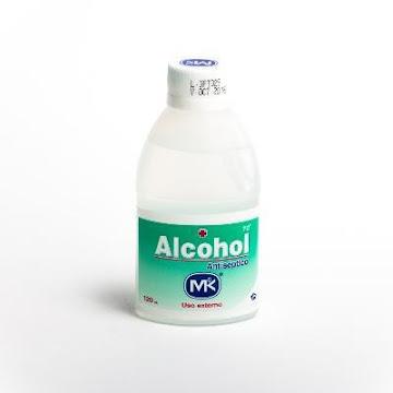 Alcohol MK Antiséptico para uso Externo x120Ml