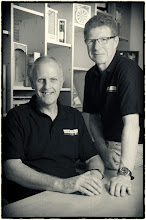 Photo: Our lovely directors here - Ian & Mike