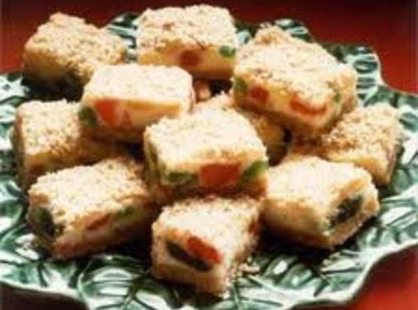 Christmas Cherry Cheesecake Bars Recipe