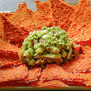 Spicy Corn Chips.