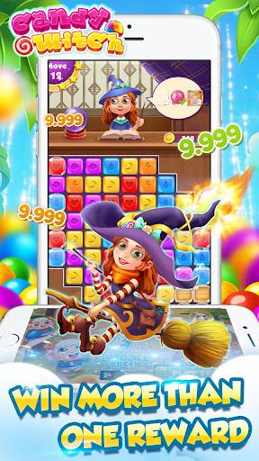 Télécharger gratuit explosion de sorcière de bonbons APK MOD 1