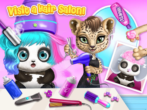 Panda Lu Baby Bear City - Pet Babysitting & Care 2.0.26 screenshots 10