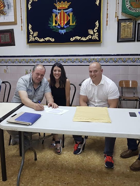 Luis Espinosa firma para Jerónima Galés - Litógrafo Pascual i Abad.