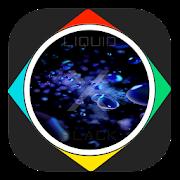 Tema Liquid | Black X icon
