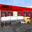 Tanker ile Petrol Taşıma Oyunu icon