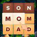 Word Dice. Word Puzzle Game. Word Search Game. icon