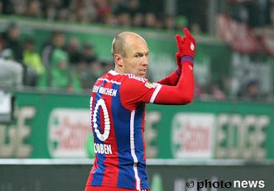 Patience pour Robben