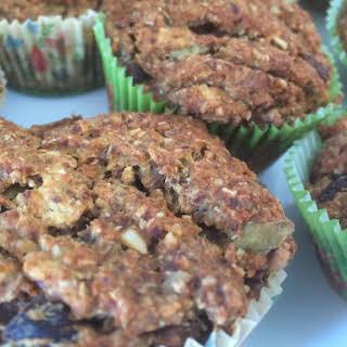 Gluten-free Vegan Carrot Cake Muffins.
