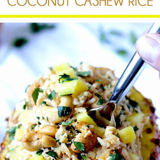 Pineapple Coconut Cashew Rice.