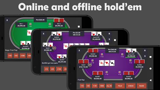 Poker Pocket (Free u2664 Offline u2662 / u2667 Online Casino)  screenshots 1