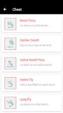 Gym Workout Free - 30 Days Gym Trainer screenshot thumbnail