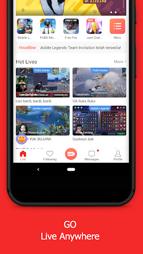 Game.ly Live - Mobile Game Live Stream 1.1.16.24659 screenshots 1